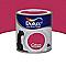 Peinture murs et boiseries DULUX VALENTINE Crème de couleur framboise satin 0,5L