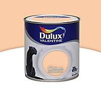 Peinture murs et boiseries Dulux Valentine Crème de couleur mangue satin 0,5L