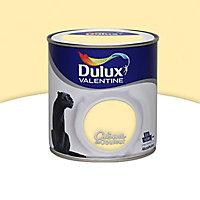 Peinture murs et boiseries Dulux Valentine Crème de couleur vanille satin 0,5L