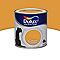 Peinture murs et boiseries DULUX VALENTINE Crème de couleur miel satin 0,5L