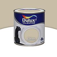 Peinture murs et boiseries Dulux Valentine Crème de couleur grain de sable satin 0,5L