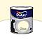 Peinture murs et boiseries DULUX VALENTINE Crème de couleur zéphir d'ivoire satin 0,5L