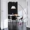 Peinture murs et boiseries DULUX VALENTINE Crème de couleur blanc satin 1,25L