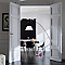 Peinture murs et boiseries DULUX VALENTINE Crème de couleur gris tendance satin 1,25L
