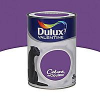 Peinture murs et boiseries Dulux Valentine Crème de couleur violet pop satin 1,25L
