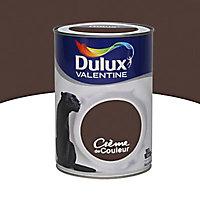 Peinture murs et boiseries Dulux Valentine Crème de couleur wengé satin 1,25L