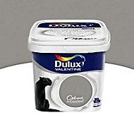Peinture murs et boiseries Dulux Valentine Crème de couleur gris building satin 2,5L