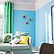 Peinture murs et boiseries DULUX VALENTINE Crème de couleur bleue caraïbes satin 2,5L