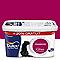 Peinture murs et boiseries Dulux Valentine Crème de couleur framboise satin 2,5L + 20% gratuit