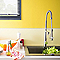 Peinture murale Sorbet Citron Satin Cuisine&Bain 2L