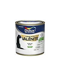 Laque Valénite Dulux Blanc de blanc satin 0,5L
