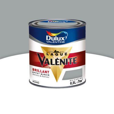 Peinture Glycéro Boiseries DULUX VALENTINE Taupe Brillant 0,5L | Castorama
