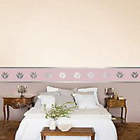 Peinture murs et boiseries Dulux Valentine Couture lin écru satiné 0,5L