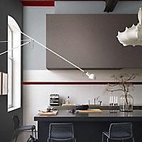 Peinture murs et boiseries Dulux Valentine Couture gris astrakan satiné 0,5L