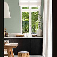 Peinture murs et boiseries Dulux Valentine Couture noir panthère satiné 0,5L