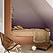 Peinture murs et boiseries DULUX VALENTINE Couture pure cachemire satiné 0,5L