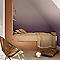 Peinture murs et boiseries Dulux Valentine Couture taffetas cassis satiné 0,5L