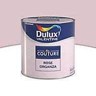 Peinture murs et boiseries Dulux Valentine Couture rose organza satiné 0,5L