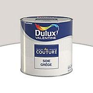 Peinture murs et boiseries Dulux Valentine Couture soie grège satiné 0,5L