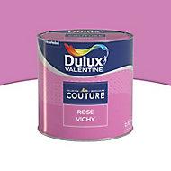 Peinture murs et boiseries Dulux Valentine Couture rose vichy satiné 0,5L