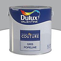 Peinture murs et boiseries Dulux Valentine Couture gris popeline satiné 2L