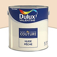 Peinture murs et boiseries Dulux Valentine Couture nude pêche satiné 2L