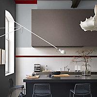 Peinture murs et boiseries Dulux Valentine Couture gris astrakan satiné 2L