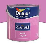 Peinture murs et boiseries Dulux Valentine Couture rose vichy satiné 2L