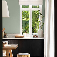 Peinture murs et boiseries Dulux Valentine Couture noir panthère satiné 2L