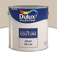 Peinture murs et boiseries Dulux Valentine Couture drap de lin satiné 2L