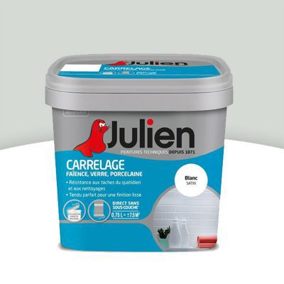 Peinture De Rénovation Carrelage Julien Gris Perle Brillant 075l
