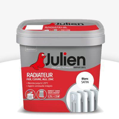 Peinture Radiateur Blanc Satin Julien 0 75l Castorama