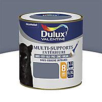 Peinture multi-supports extérieur Dulux Valentine titane satin 0,5L