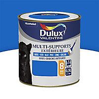 Peinture multi-supports extérieur Dulux Valentine bleu breton satin 0,5L