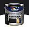 Peinture multi-supports extérieur DELUX VALENTINE noir satin 2L