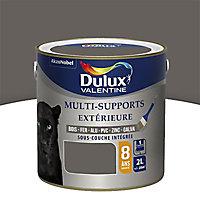 Peinture multi-supports extérieur Dulux Valentine goémon satin 2L