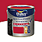 Peinture multi-supports extérieur Dulux Valentine rouge coquelicot satin 2L