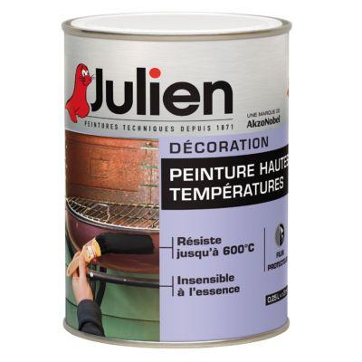 Peinture Haute Température 600 C Julien Noir 0 25l Castorama