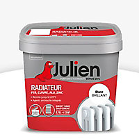 Peinture radiateur blanc brillant JULIEN 0,75L
