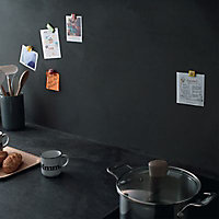 Peinture magnétique multisupport gris foncé mat Julien 0,5L