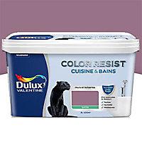 Peinture cuisine et salle de bain Dulux Valentine Color resist figue satin 2L