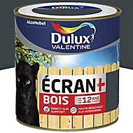 Peinture bois extérieur Dulux Valentine Ecran+ anthracite satin 0,5L