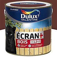 Peinture bois extérieur Dulux Valentine Ecran+ ton bois satin 2L