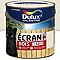 Peinture bois extérieur Dulux Valentine Ecran+ blanc crème satin 2L
