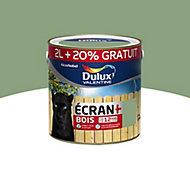 Peinture bois extérieur Dulux Valentine vert provence satin 2L + 20%