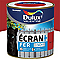 Peinture fer antirouille DULUX VALENTINE Ecran+ rouge agricole brillant 0,5L