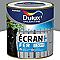Peinture fer antirouille DULUX VALENTINE Ecran+ gris acier brillant 0,5L