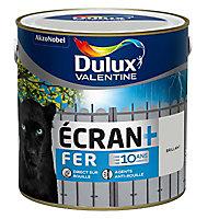 Peinture fer antirouille DULUX VALENTINE Ecran+ gris clair brillant 2L