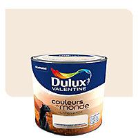 Peinture multi-supports Dulux Valentine Couleurs du monde plaines d'asie pâle satin 0,5L