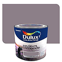 Peinture murs et boiseries Dulux Valentine Couleurs du monde campagne provençale intense satin 0,5L